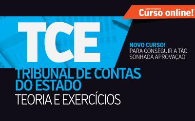 Analista e Téc. de Controle Externo - TCE