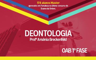 OAB 1ª Fase - Deontologia