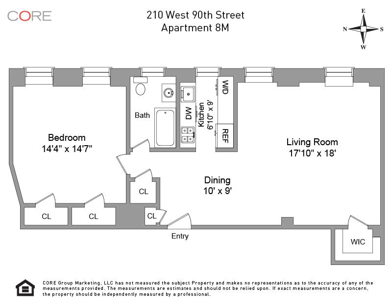 210 West 90th St. 8M, New York, NY 10024