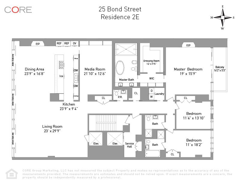 25 Bond St 2E, New York, NY 10012