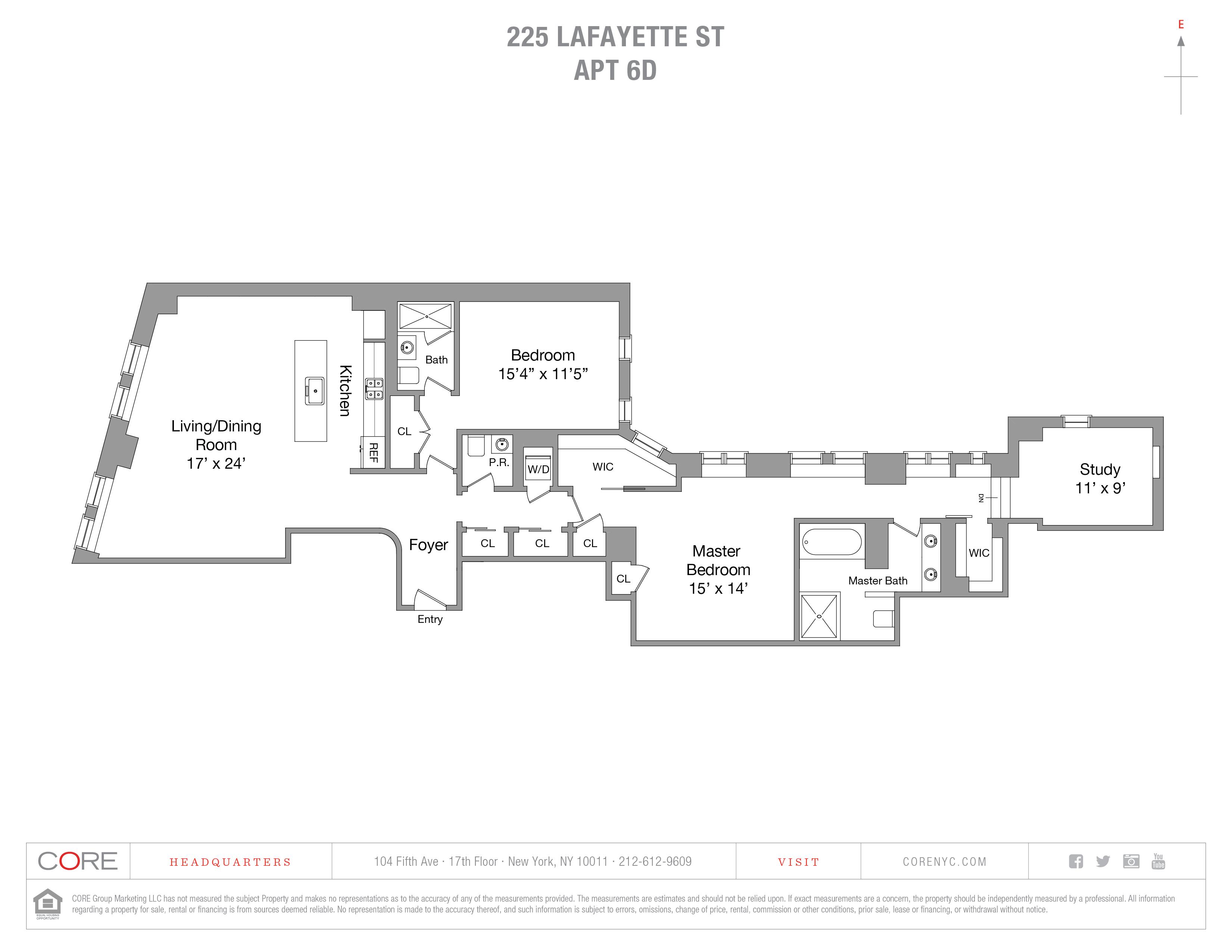 225 Lafayette St. 6D, New York, NY 10012