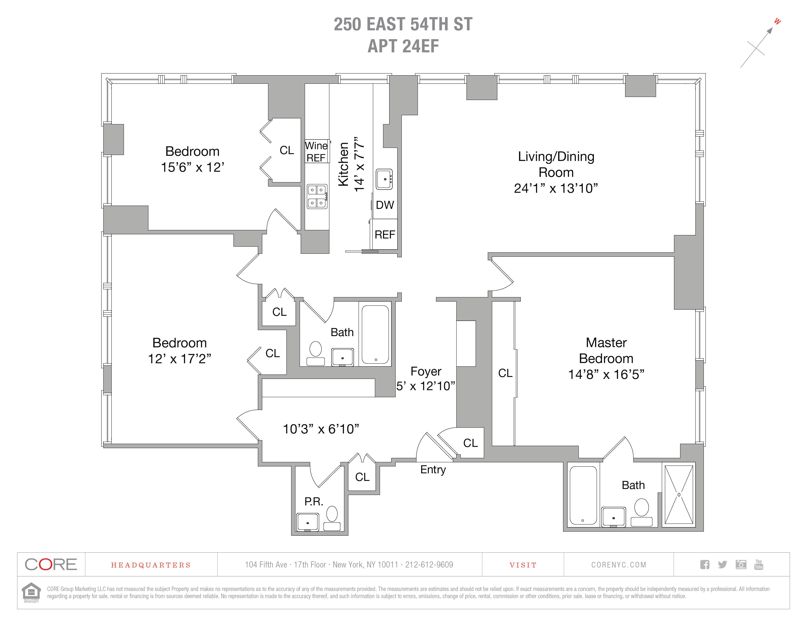 250 East 54th St. 24EF, New York, NY 10022