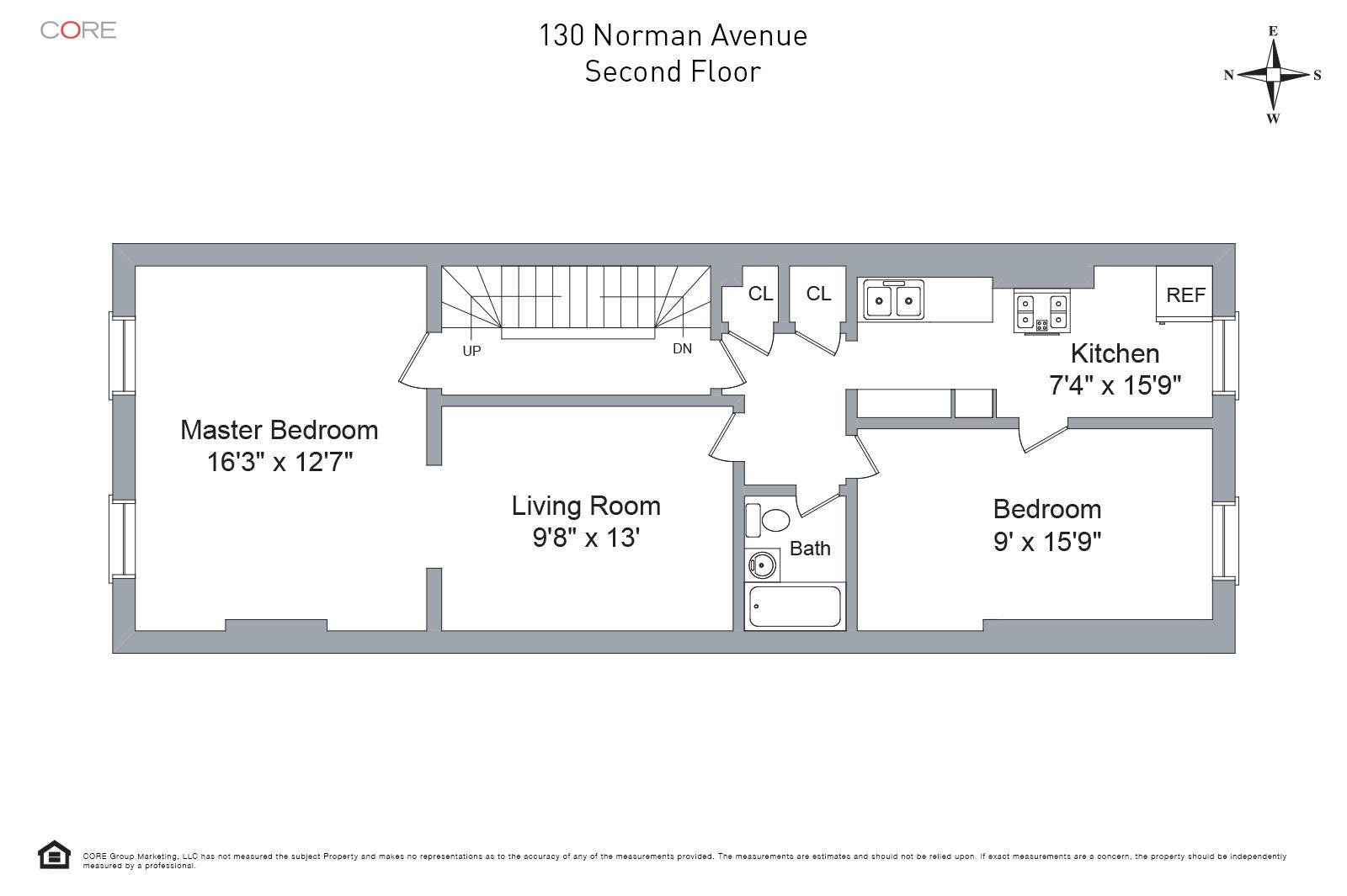 130 Norman Ave. 2, Brooklyn, NY 11222