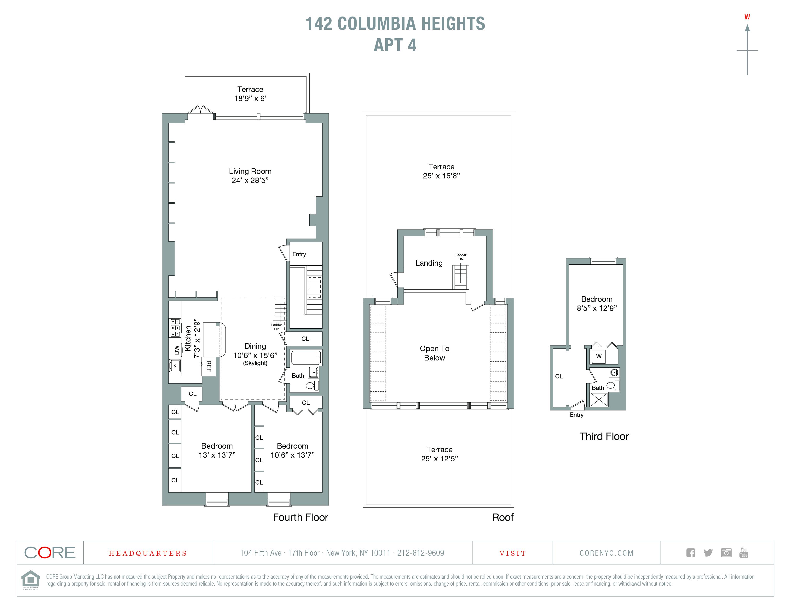 142 Columbia Heights 4, Brooklyn, NY 11201