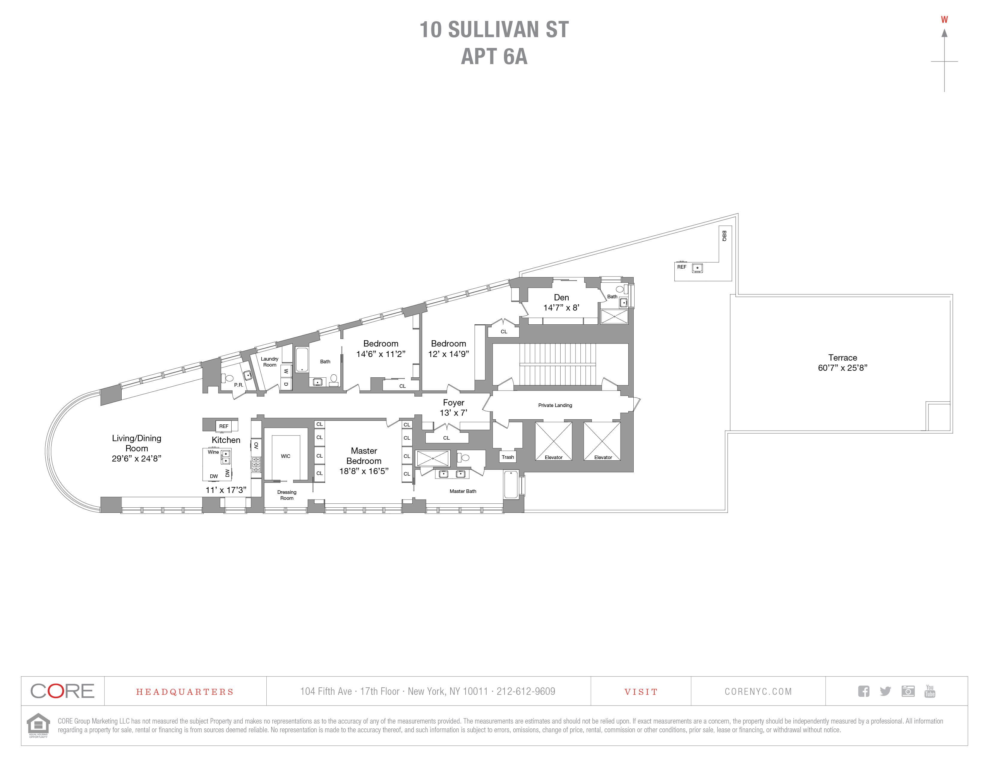 10 Sullivan St. 6A, New York, NY 10013