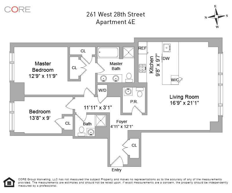 261 West 28th St. 4E, New York, NY 10001
