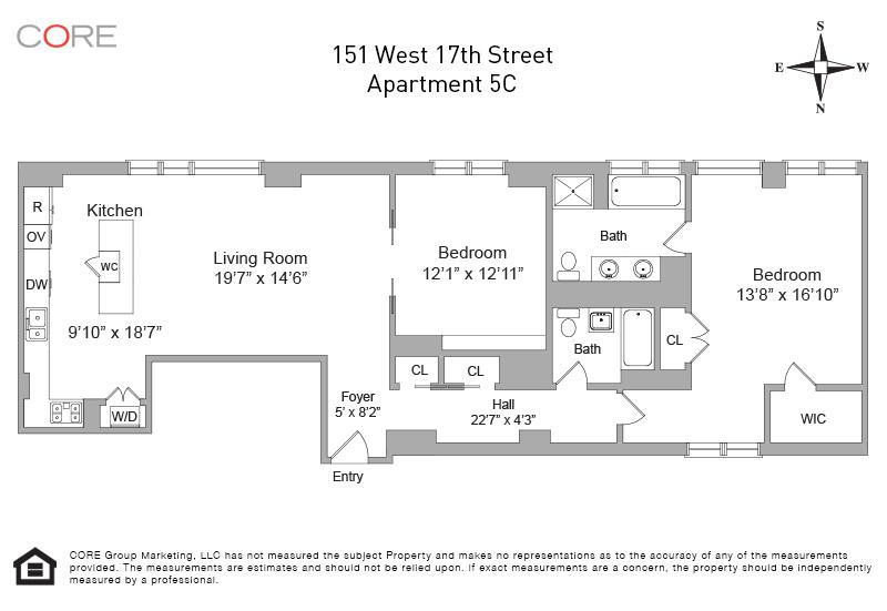 151 West 17th St. 5C, New York, NY 10011