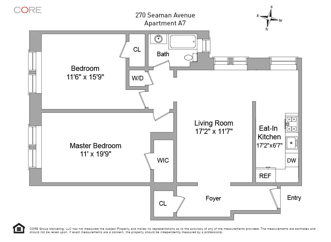 270 Seaman Ave. A7, New York, NY 10034