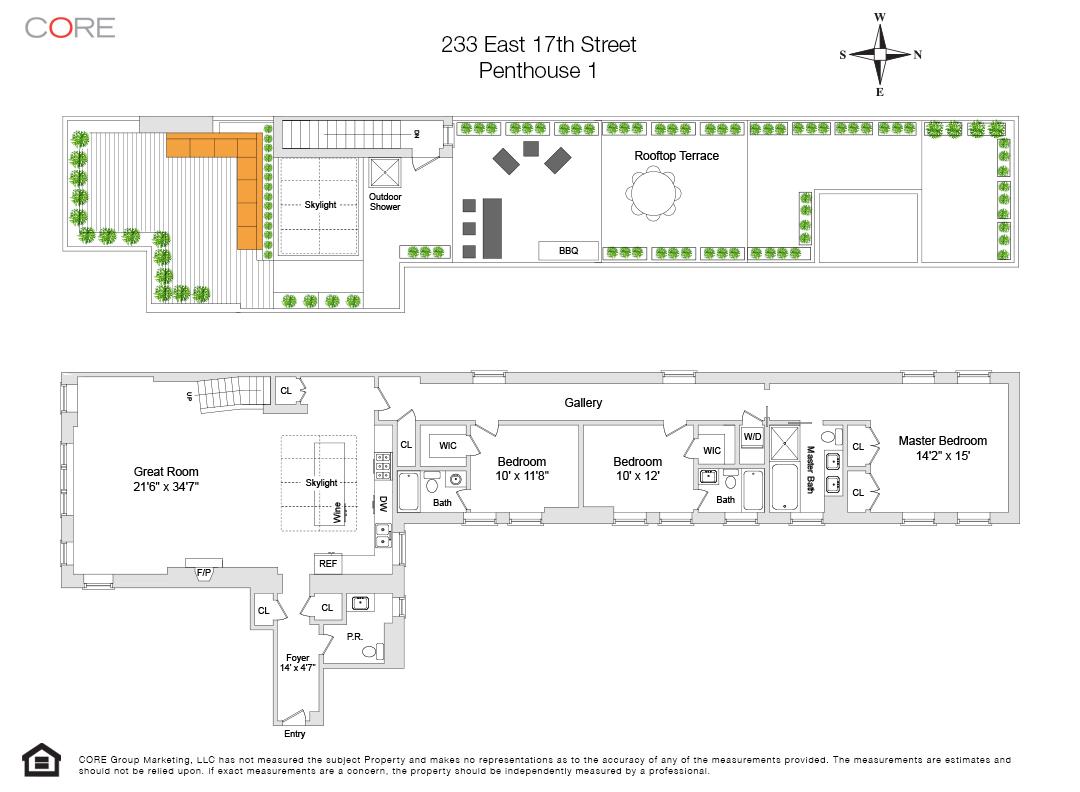 233 East 17th St. PH1, New York, NY 10003