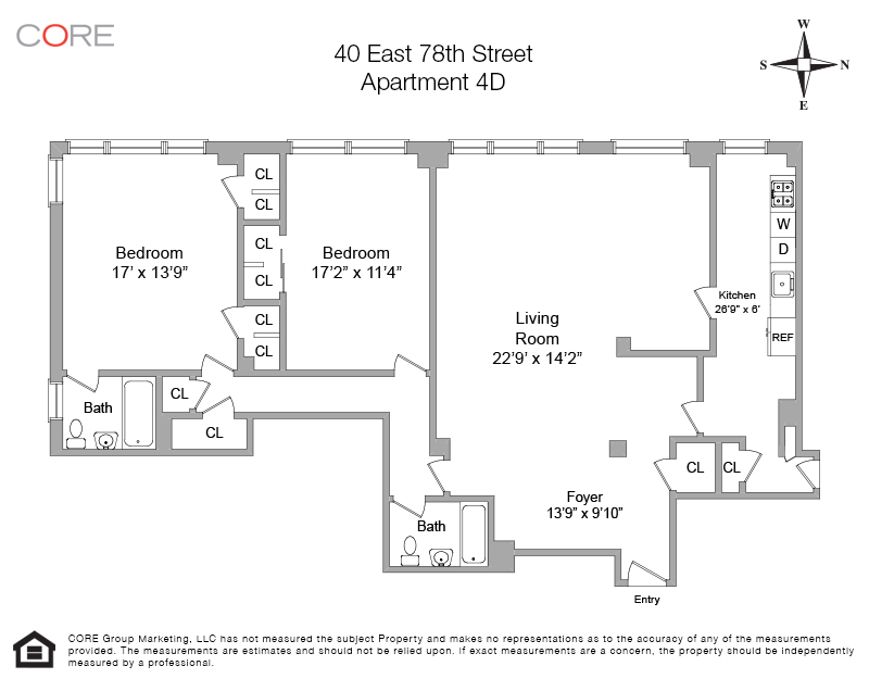 40 East 78th St. 4D, New York, NY 10075