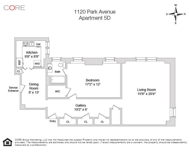 1120 Park Ave. 5D, New York, NY 10128