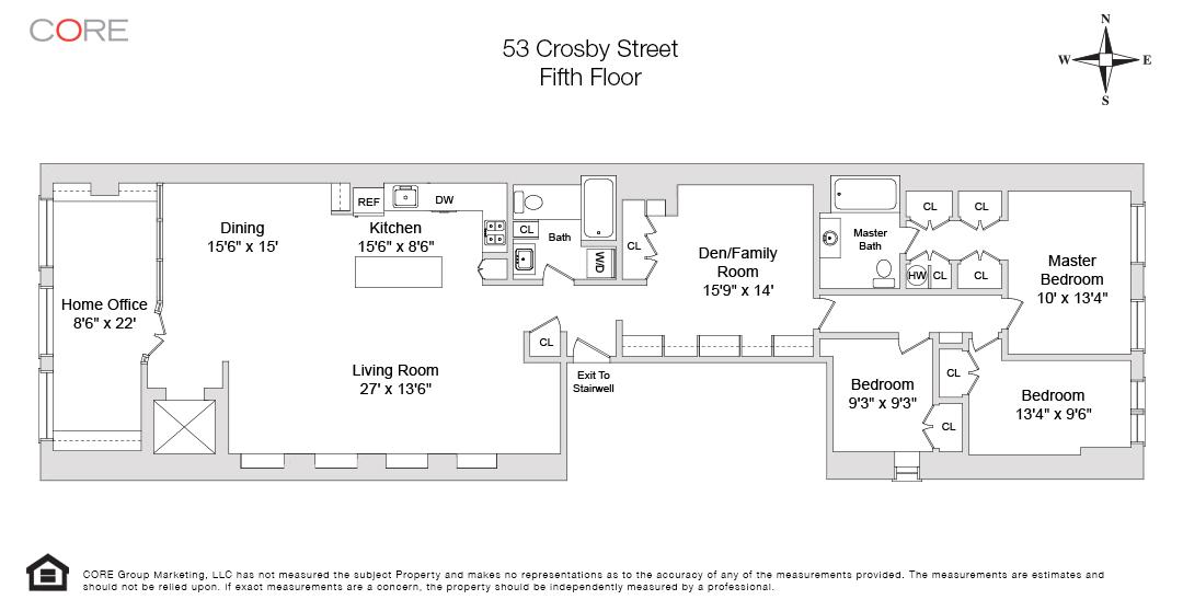 53 Crosby St. 5, New York, NY 10012