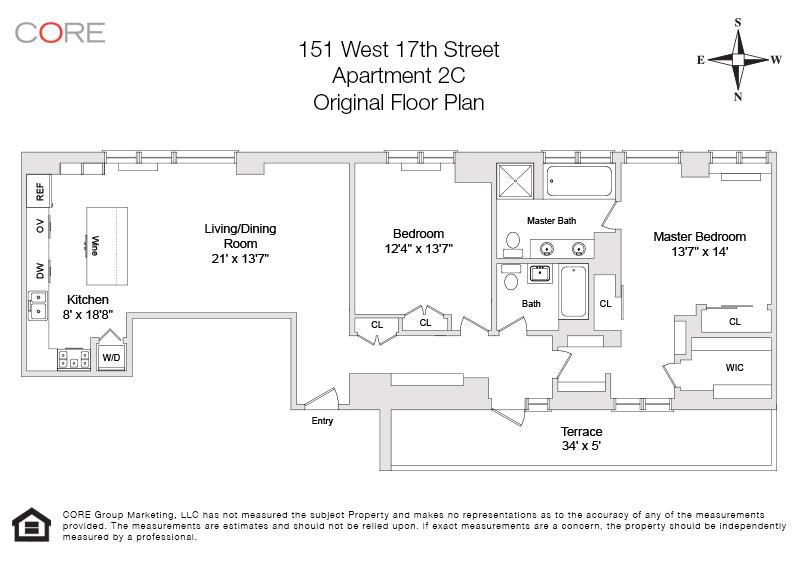 151 West 17th St. 2C, New York, NY 10011