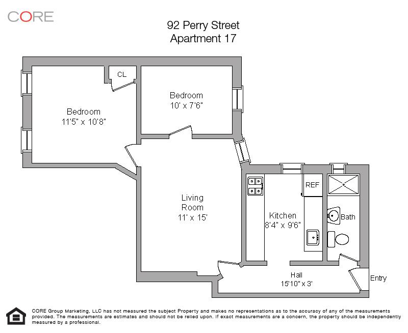 92 Perry St. 17, New York, NY 10014