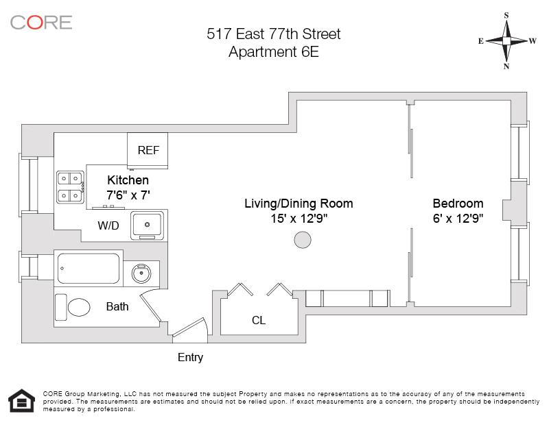 517 East 77th St 6E, New York, NY 10021