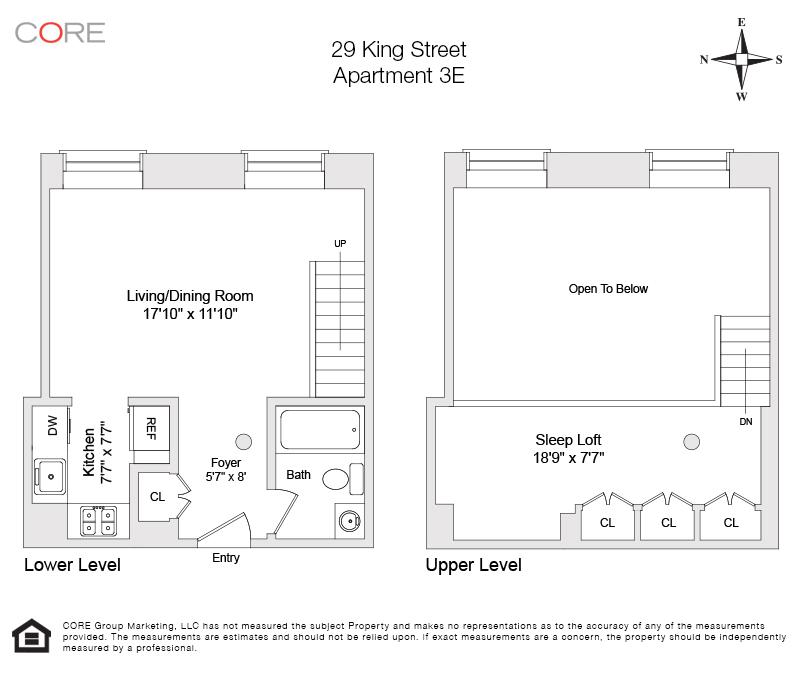 29 King St. 3E, New York, NY 10014