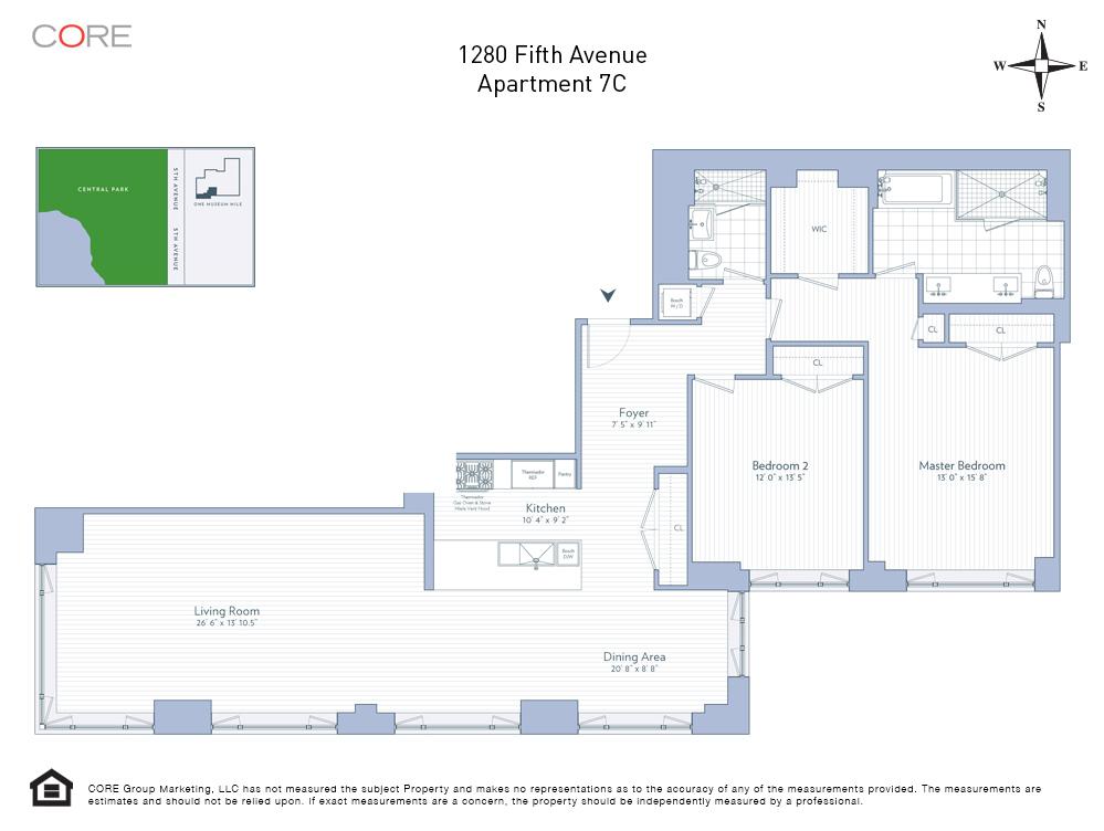 1280 Fifth Ave. 7C, New York, NY 10029