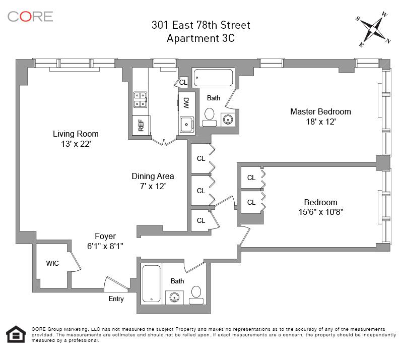 301 East 78th St. 3C, New York, NY 10075