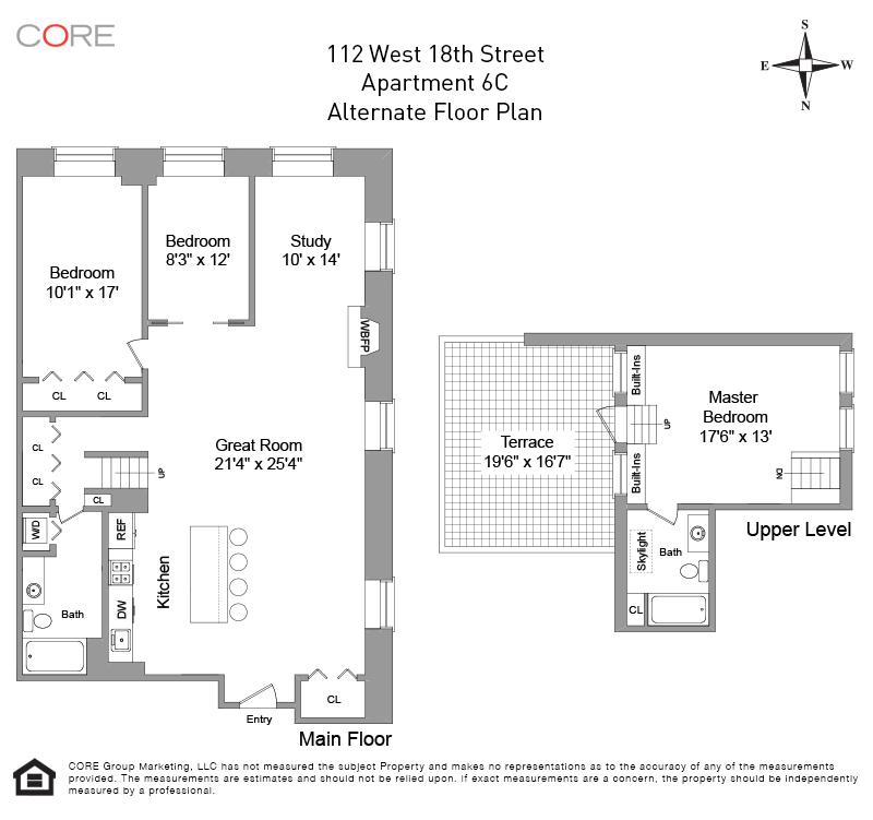 112 West 18th St. PH6C, New York, NY 10011