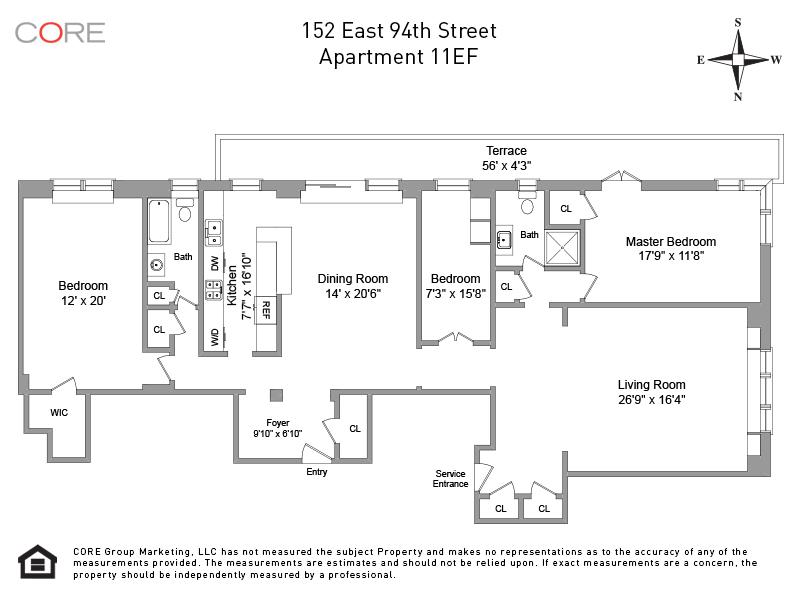 152 East 94th St. 11EF, New York, NY 10128