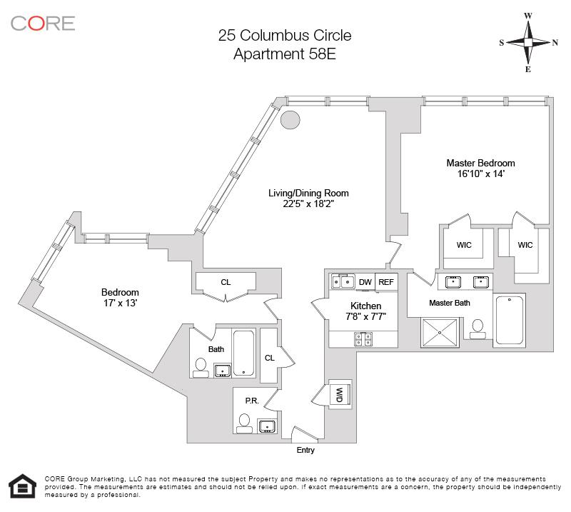 25 Columbus Circle 58E, New York, NY 10019