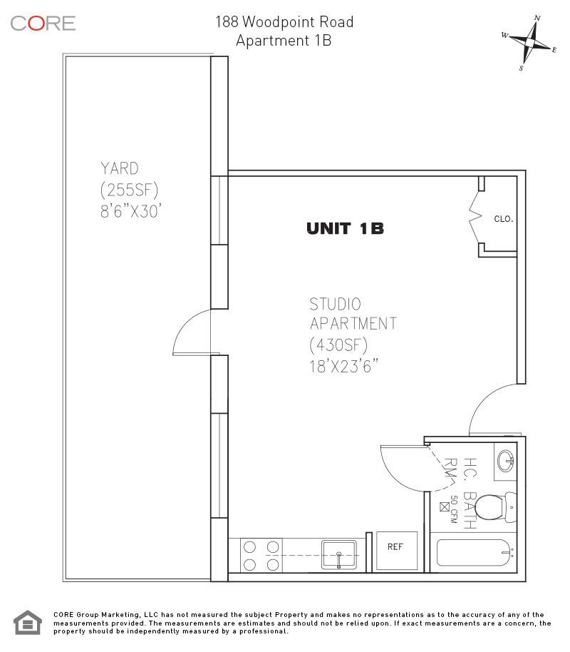 188 Woodpoint Rd. 1, Brooklyn, NY 11211