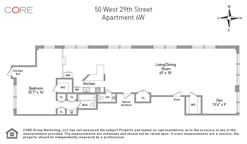 50 West 29th St 6W, New York, NY 10001