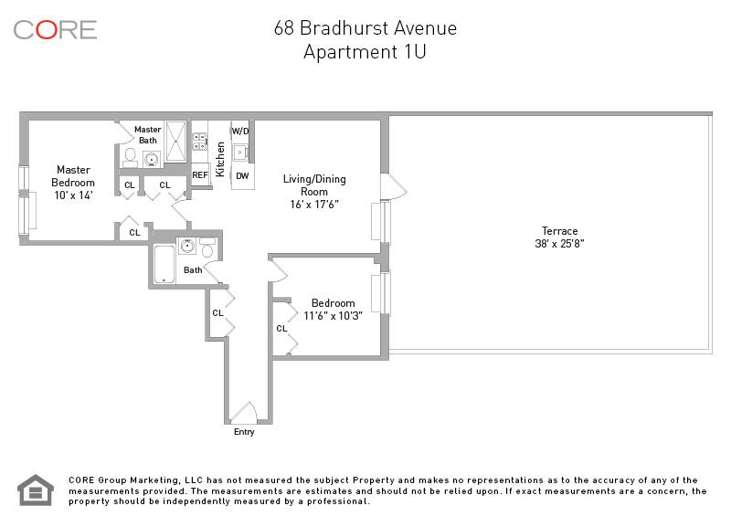 68 Bradhurst Ave. 1U, New York, NY 10039