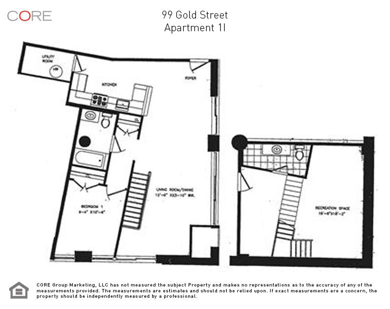 99 Gold St. 1I, Brooklyn, NY 11201