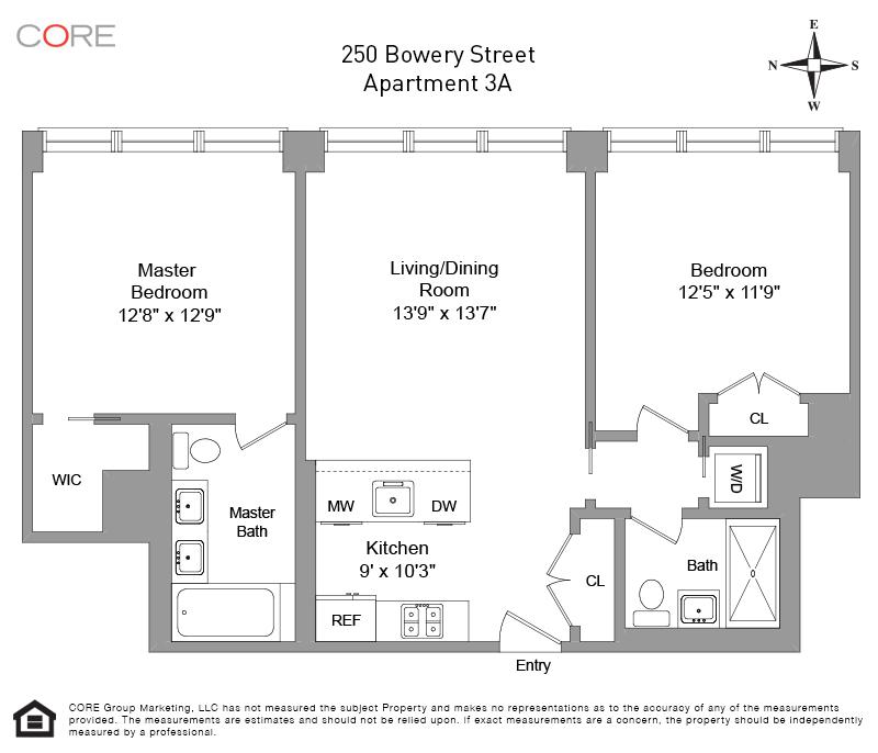 250 Bowery 3A, New York, NY 10012