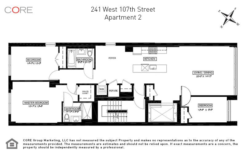 241 West 107th St. 2FL, New York, NY 10025