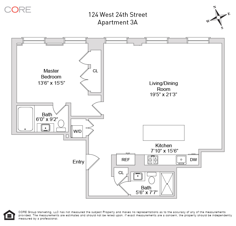 124 West 24th St. 3A, New York, NY 10011