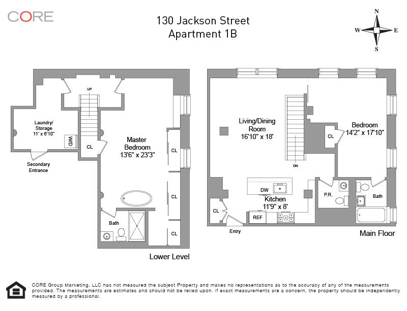 130 Jackson St 1B, Brooklyn, NY 11211