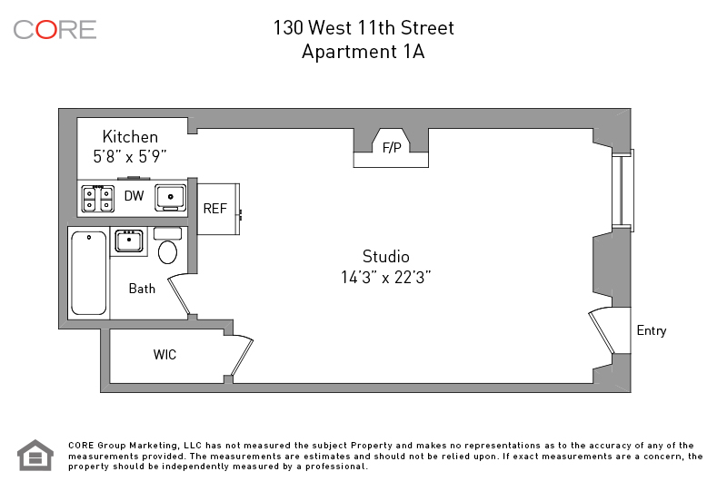 130 West 11th St. 1A, New York, NY 10011