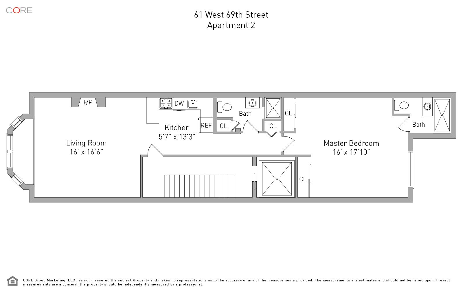 61 West 69th St. 2, New York, NY 10023