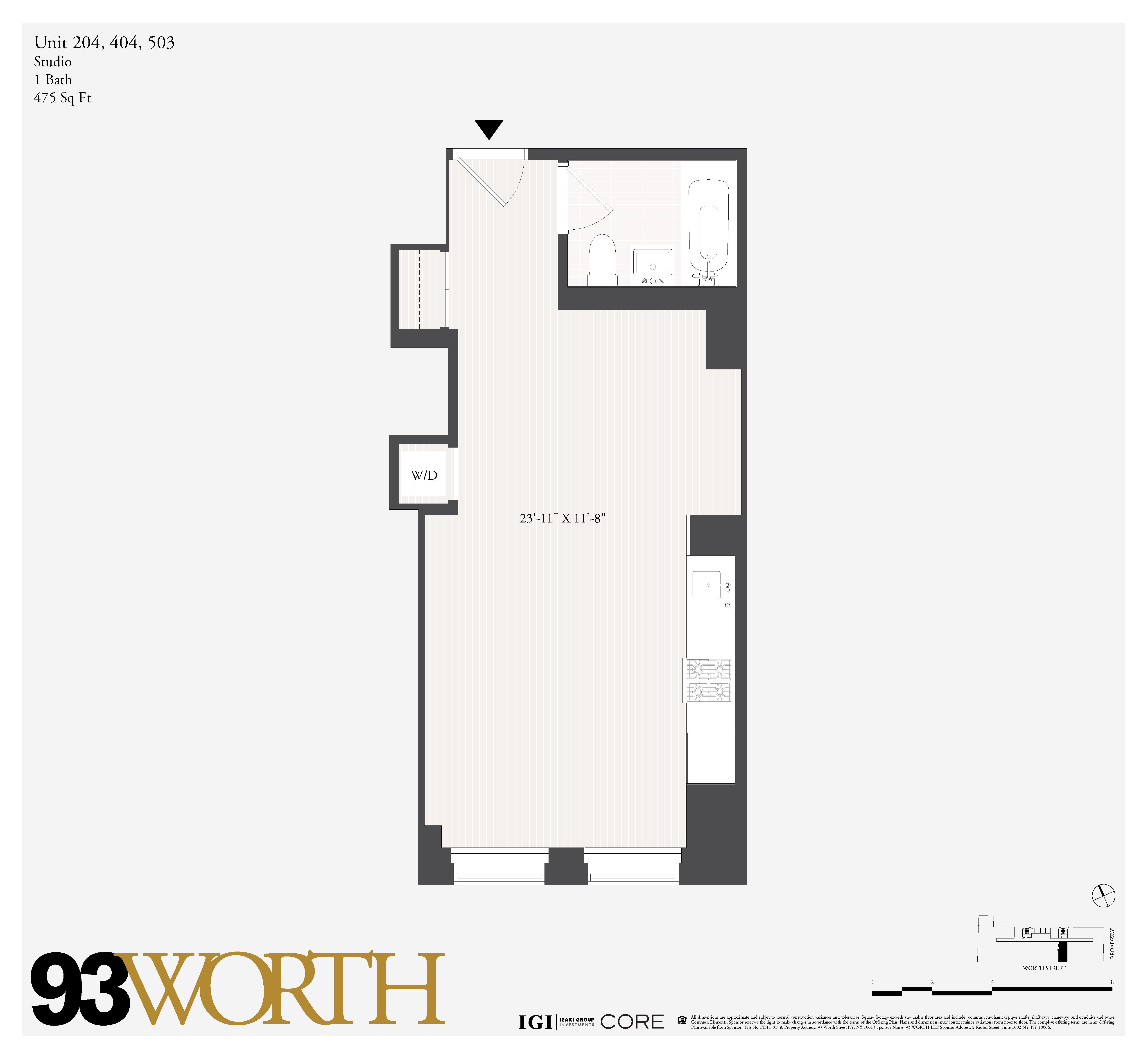 93 Worth St. 204, New York, NY 10013
