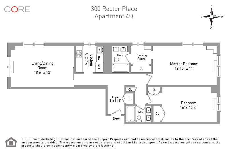 300 Rector Place 4Q, New York, NY 10280