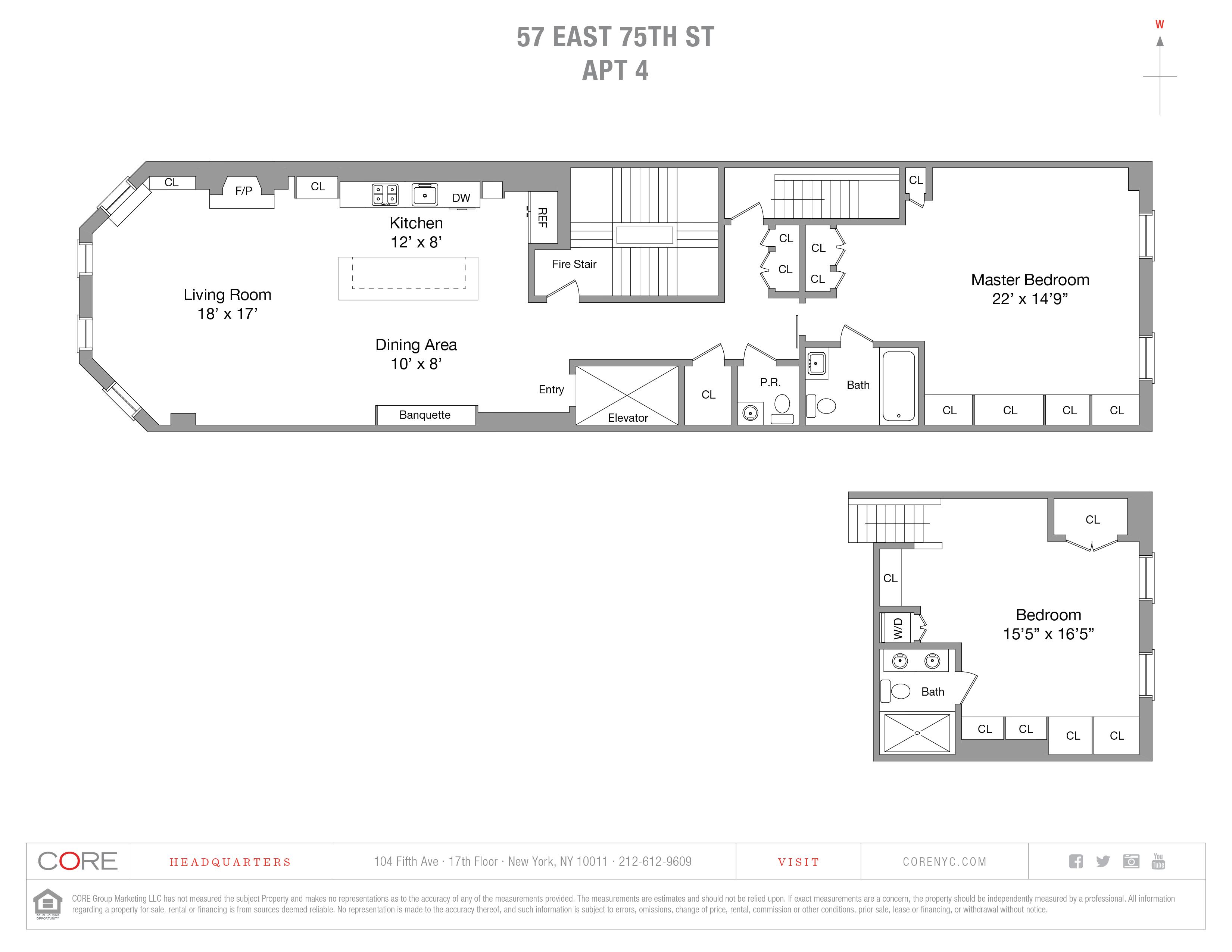 57 East 75th St. 4, New York, NY 10021