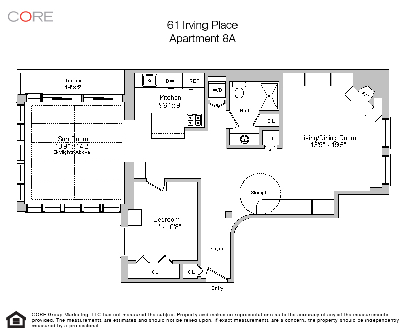 61 Irving Place 8A, New York, NY 10003