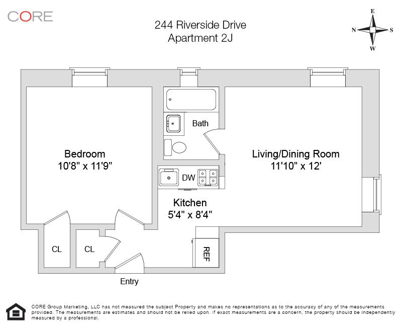244 Riverside Dr. 2J, New York, NY 10025