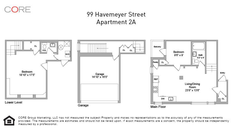 99 Havemeyer St. 2A, Brooklyn, NY 11211