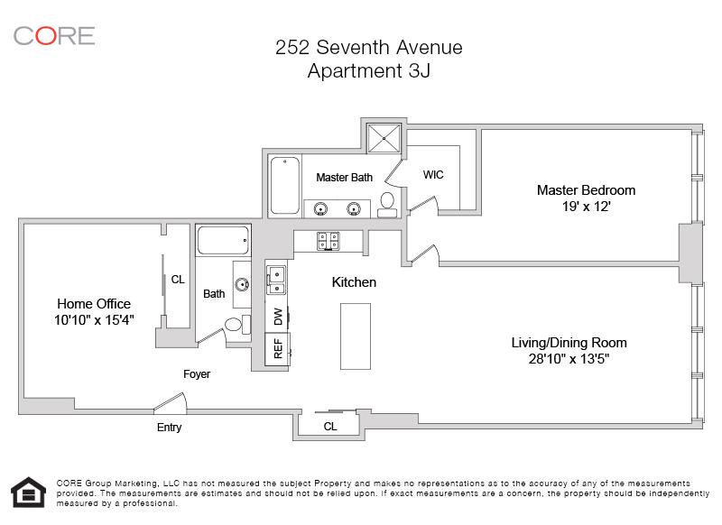 252 Seventh Ave. 3J, New York, NY 10001