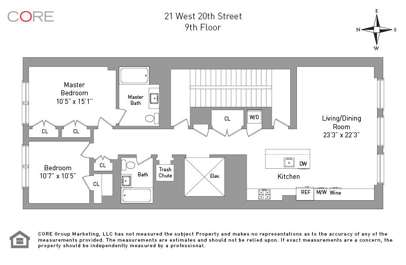 21 West 20th St. 9, New York, NY 10011