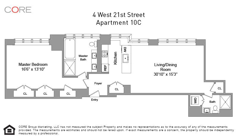 4 West 21st St. 10C, New York, NY 10010