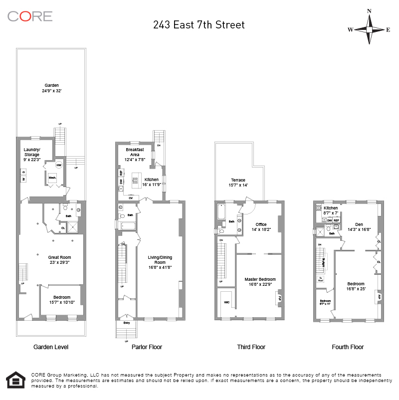 243 East 7th St. TOWNHOUSE, New York, NY 10009