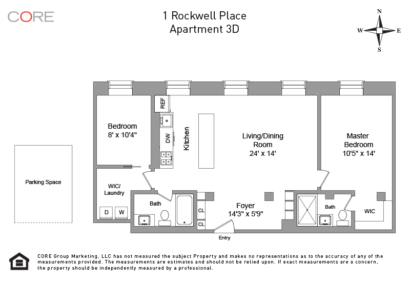 1 Rockwell Place 3D, Brooklyn, NY 11217