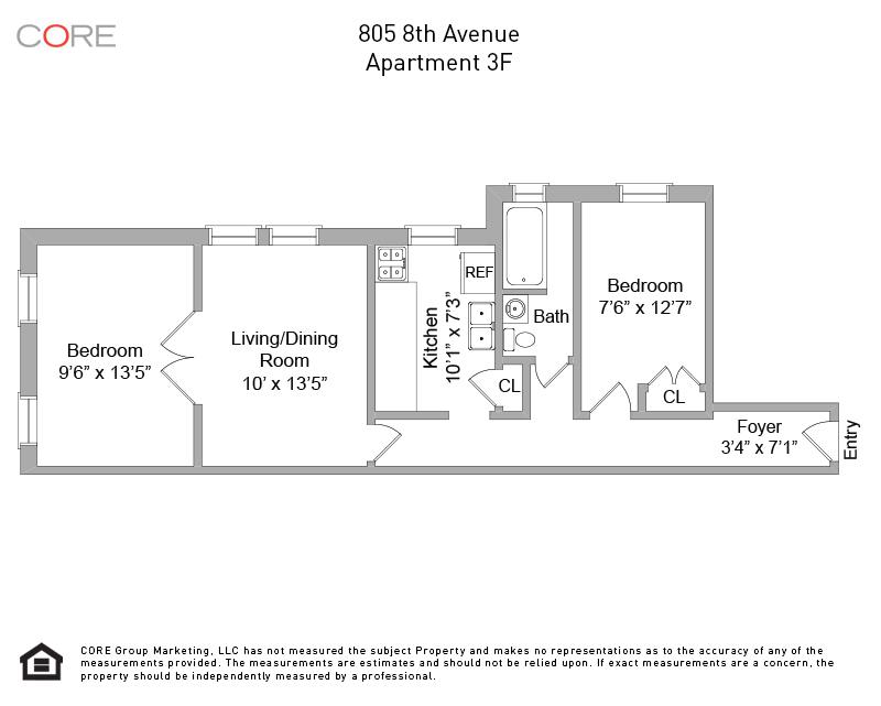 805 8th Ave. 3F, Brooklyn, NY 11215