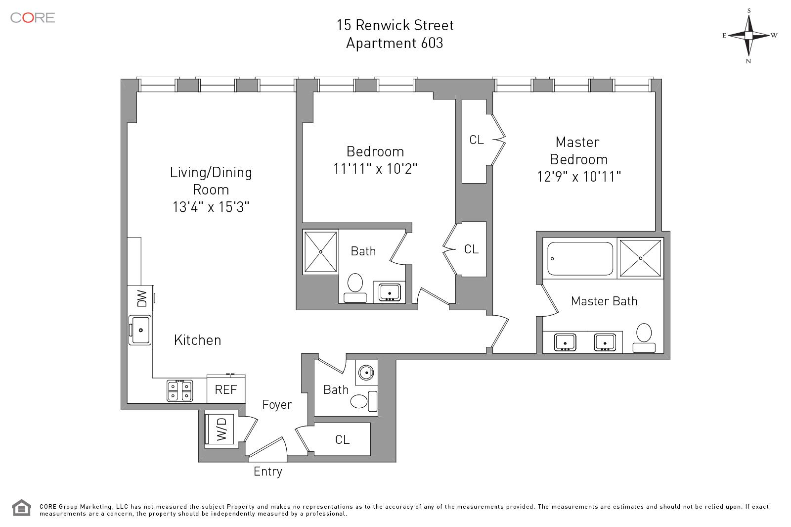 15 Renwick St. 603, New York, NY 10013