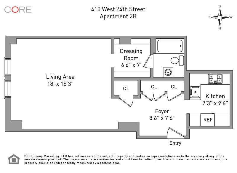410 West 24th St 2B, New York, NY 10011