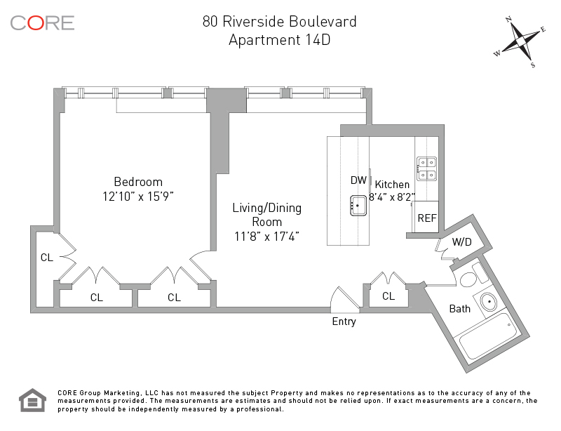 80 Riverside Blvd. 14D, New York, NY 10069